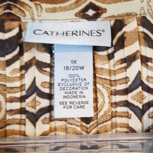 Catherines Tops - Lightweight V-Neck Tunic